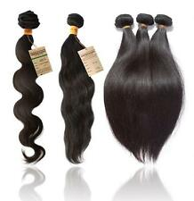 Brazilian Virgin Remy Human Hair Extensions Wefts 6A Unprocessed Real Human Hair