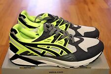 NIB ASICS Gel Kayano H4A2N-1090 Grey Neon Mens Shoes PATTA ATMOS CAMO