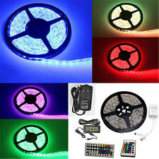 5050/3528 Flexible 300 Leds SMD Light Strip LED Car Waterproof White RGB 12V 5M