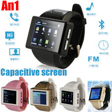 An1 Unlock Smart Watch Cell Phone touch screen android Wifi Bluetooth GPS Camera