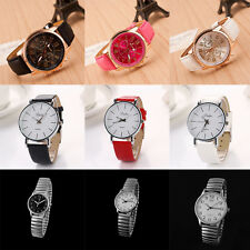 Men's Sport Luxury Wrist Watch Analog Quartz Stainless Steel Watches