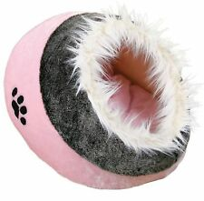 NEW Trixie Minou Cuddly Cave Basket Washable Fleece Bed For Cats And Dogs