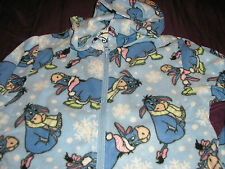 Disney Eeyore Fleece 1 piece Hooded Womens Pajama
