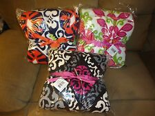 Vera Bradley Throw Blanket in Canterberry Magenta, Sun Valley or Lilli Bell-NEW