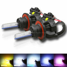 2 X H13 BI-XENON AC HID CONVERSION BULBS REPLACEMENT FOR HEADLIGHT FIVE COLORS