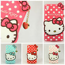 New 3D Love Hello kitty TPU Silicone Skin Cover Case For Samsung Galaxy Models