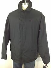 TOMMY HILFIGER NWT BLACK  Men's  Great Jacket W quilted lining, size XLT