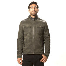 X-Ray Men's Twill Jacket XMJ-8329  Color Olive With Fur Like Lining