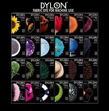 DYLON WASHING MACHINE FABRIC CLOTHES WASH & DYE 24 COLOURS