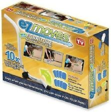 New AS SEEN on TV EZ Moves Furniture Moving System with Lifter Tool & 8 Slides