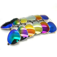 Fashion Boys Girls Kids Sunglasses Mirror Reflective Lens Wayfarer Sunglasses SY