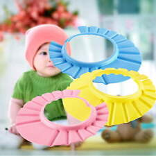 Soft Baby Kids Children Shampoo Bath Bathing Shower Cap Hat Wash Hair Shield SY