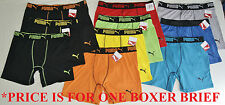 Puma Men's Athletic Boxer Brief Sport Underwear New w Tags S M L XL Retail $20