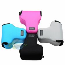 4 Color Neoprene Soft Camera Case Bag Pouch For Olympus OMD E-M1 EM1 Camera NEW