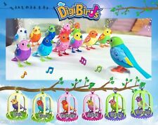Silverlit Digibirds With Cage Singing Birds 6 Diff. Digital New&OP