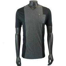 Mens Versace V800406 Black/Grey T-Shirt SRP £195