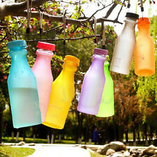 Fashion Cheap Unbreakable Travel Water Bottle Portable Leak-proof Camping Cup