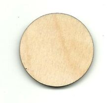 Basic Circle Unfinished Wood Shapes Craft Supply Laser Cut Out DIY BSC104