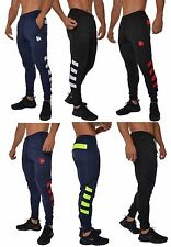 Men's Skinny Soccer Pants Training Sweat Sport Gym Athletic tight fit Neon Color