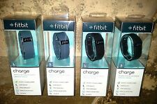 Fitbit CHARGE Wristband - NEW in box - SLATE - BLACK - SMALL - LARGE