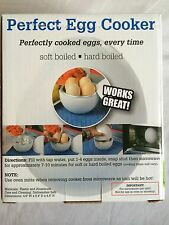 Perfect Microwave Egg Cooker 1 to 4 Eggs in 7 to 10 Minutes