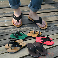 New Mens Women Casual Flip Flops Sandals Slipper Beach Home Flats Holiday Shoes