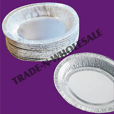 INDIVIDUAL FOIL PIE DISHES, CASES, OVAL, DISPOSABLE TRAY, DISH, CONTAINER