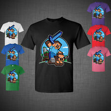 Minecraft Adventure Game Kids Youth Kid T-Shirt NEW Jinx Christmas gift ROBOT
