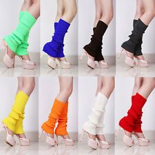 Hot Women Delicate Knit Winter Leg Warmers Stocking Popular Legging Boot Socks