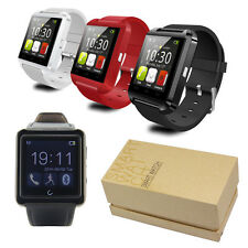 Bluetooth Smart Wrist Watch Phone Mate For IOS iPhone6 Android Samsung Note4 HTC
