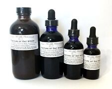 Oat Straw Tincture, Extract, Aphrodisiac, Energy, Weight Loss, Multiple Sizes
