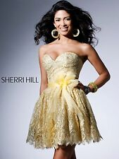 Sherri Hill dress cocktail prom lace 2311