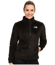 NORTH FACE WOMENS SUPLE OSITO LIKE SILKY FLEECE BLACK JACKET BLACK