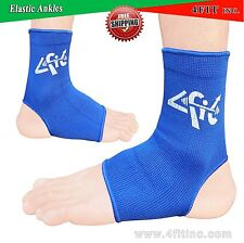 4Fit ELASTICATED NEOPRENE ANKLE FOOT BRACE SUPPORT PAIN INJURY RELIEF LEG & FOOT