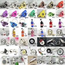 Creative Car Auto Part Model Keychain Key Chain Ring Keyring Keyfob Key Holder