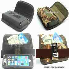 Holster Horizontal With Metal Clip FOR Otterbox Defender Case On - Camo OR Black