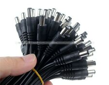 10Pcs Male/Female 5.5X2.1mm DC Power Connector Adapter Cable Pigtail Wire S7