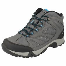 MENS CHARCOAL/COOL GREY/ BLACK  HI TEC WALKING BOOTS- PIONEER WP
