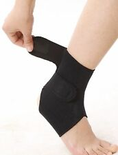 Tourmaline self heating Magnetic Ankle wrap for pain relief, injury, sprain