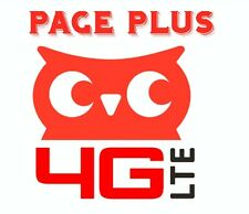 New 4G LTE Page Plus Plans Now With Unlimited Data $40.00 Plan!!