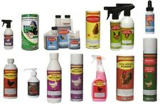 Poultry Red Mite Solution, Boost, Scaly Legs, Anti Pecking, Sanitising Powder