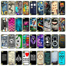 New Various Patterns Printed Back Hard Case Cover Skin For Apple Ipod Touch 5