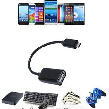 USB Host OTG Adaptor Adapter Cable Cord For Curtis Klu LT1041 LT1041-D Tablet PC