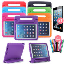 Kids Shock Proof Thick Foam EVA Handle Stand Case for Samsung Tablets Apple Ipad