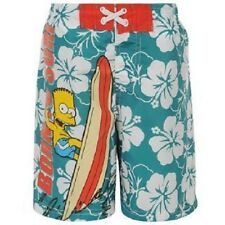 Boys Simpsons ~ Born To Surf ~ Board Shorts ~ Various Sizes ~