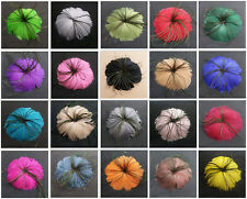 Wholesale 1pcs beautiful feather flower for headdress a variety of color choice