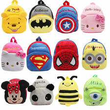NEW Baby Toddler Kids Child Boy Girl Cartoon Animal Backpack Schoolbag Shoulder
