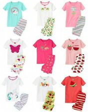 NWT Gymboree Girl Shortie Cotton Pajamas Unicorn Butterfly Frogs Rainbow Firefly
