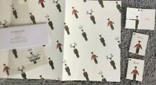 Harrods Wrapping Paper x 3 + 3 gift cards-Tissue BNIP - Card to match