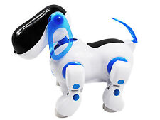 Electronic Walking Puppy Pet Robot Dog Kids Children Toy Gift With Music Light